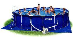 сборный бассейн каркасный